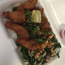 100 Asian Cravings Truck Chicken Wings Rice Bowl And Its Goooooood Yelp