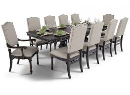 Bristol 11 Piece Dining Set Room Sets And With Bob Furniture Decorations 12