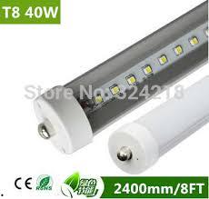 8ft led t8 led light t8 2400mm 40w smd2835 4000lm led