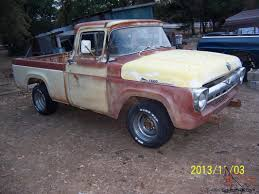 1957 FORD F100 TRUCK Cdon Skelly Classic Trucks The 195758 Ford Ranchero 57 Truck Light Wiring Enthusiast Diagrams 1969 F250 Pickup 360 V8 Youtube 0914 F150 Paramount 570180 Front Bumper Ebay Floppy Photos 1957 F350 Hot Rod Network 2018 Trucks Link To Telogis Via Sync Connect Ford F100 Google Search Cars Pinterest Features 5760 Truck Pics Page 12 Hamb F100 Tags Legend Lime Stepside Styleside