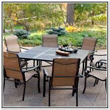 tile top patio table set home design ideas
