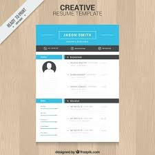 Free Download Creative Resume Templates Template Vector 4 Cv Uk
