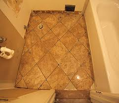 diy bathroom floor tile brilliant how to lay tile in bathroom