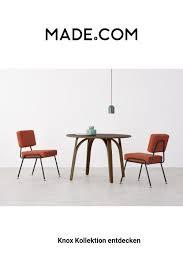 2 x esszimmerstühle retro orange modernes
