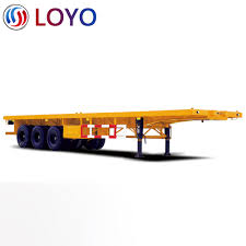 100 Semi Truck Trailers For Sale 40ft Flatbed In Myanmar Buy Flatbed