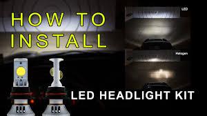 led headlight how to install led headlight kit led headlight bulbs