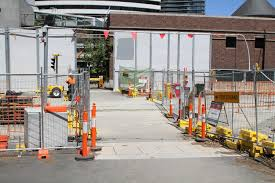 100 Domain Road Pedestrian Crossing On At The Anzac Station Work Site