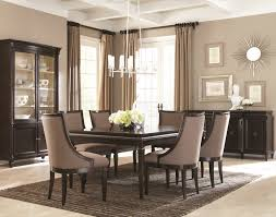 modern dining room sets for 8 lovely christmas table decor ideas