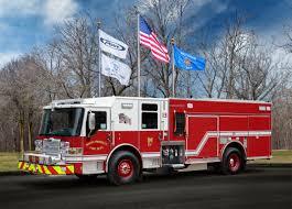 100 Truck Flag Mount Prospect Fire Department Pumper