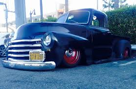 1950 Chevy Pickup Hot Rod Art Morrison Chassis 350 V8 Automatic ...