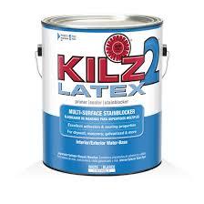 Zinsser Popcorn Ceiling Patch Msds by Kilz 2 Latex Primers Specialty Paints U0026 Concrete Care Products