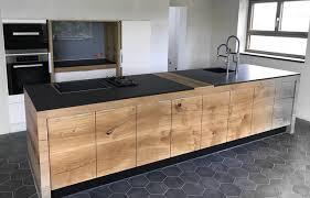 küchenzauber holzküche aus eiche modern küche