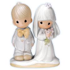 Precious Moments The Lord Bless You And Keep Bride Groom Wedding Figurine