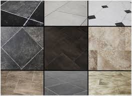 Slate Vinyl Floor Tiles Modern Looks Stone Effect Gallery Flooring Pattern Texture