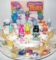 cake decorations dreamworks trolls deluxe favors goody bag