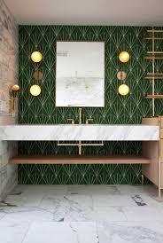 grünes badezimmer komplette anleitung um diese kleine ecke