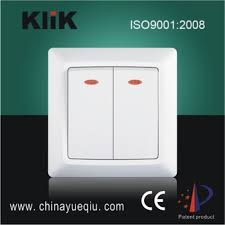 modern type wall switch with led indicator light buy wall switch