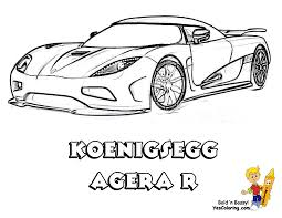 Full Force Race Car Coloring Pages