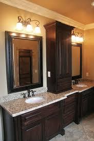 Bathroom Vanities With Matching Makeup Area by Best 25 Linen Cabinet In Bathroom Ideas On Pinterest Built In