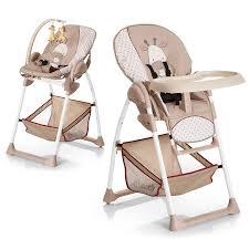 transat la girafe hauck sit n relax girafe chaise haute 2 en 1 convertible en