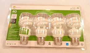 ecosmart 9 watt soft white compact fluorescent cfl light bulbs 4