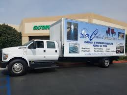 Cardinal Church & Worship Furniture - Ford F650 Box Truck - Gator Wraps