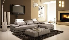 Grey Leather Sectional Living Room Ideas by Contemporary U0026 Luxury Furniture Living Room Bedroom La Furniture