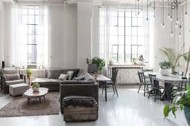 Nautical Style Living Room Furniture by Tour A Nautical Scandinavian Style Toronto Loft Toronto Lofts