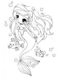 The Last Unicorn Coloring Pages Best Of Ariel Little Mermaid Chibi By Yampuff On Deviantart