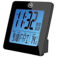 horloge de bureau numérique de marathon noir horloges best