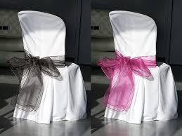 ruban pour noeud de chaise noeuds de chaise en organza mariage housses de chaise mariage