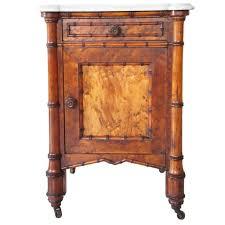 Antique Birdseye Maple Dresser With Mirror by Antique 7 Piece American R J Horner Birdseye Maple Faux Bamboo