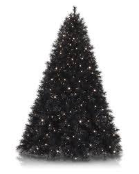 Tuxedo Black Artificial Christmas Tree