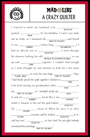 Halloween Mad Libs by Timeless Treasures Tuesday Teaser Quilt Market