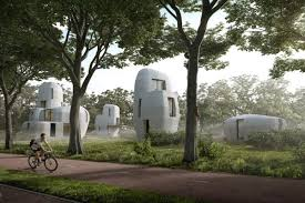 100 Concrete Residential Homes 3Dprinted Concrete Homes Coming To The Netherlands Curbed