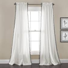Lush Decor Velvet Curtains by Urban Tassel Window Curtain Set Lush Décor Www Lushdecor Com
