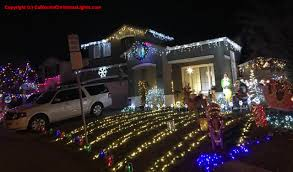 Christmas Tree Lane Ceres Ca Address by Best Christmas Lights And Holiday Displays In Martinez Contra