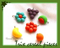 Trix Cereal Charms By HanaClayWorks