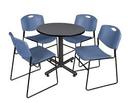 Kobe Round Breakroom Tables & 4 Zeng Stack Chairs- Blue – The Office ... Flash Fniture 315inch Round Alinum Indoor Outdoor Table With 315 Square Red Metal Inoutdoor Set 4 Stack Chairs Duet Tables Global Group Lifetime 9piece Black Stackable Folding Set80439 The Home Cafe Restaurant Seat Stock Image Of Ding Kitchen Ikea Traing And Mktrcc7224pl44be Foldingchairs4lesscom T42rdb1922slmh2300p03 Bizchaircom Amazoncom Kee 42 Breakroom Mahogany M Rattan 3 Classic Teak Garden Eight Oval Stacks Store
