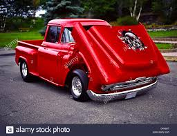 1956 Custom Chevrolet Step-Side Pick Up Truck Stock Photo: 54665572 ...