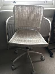 White Desk Chair Ikea by Desk Chair White Desk Chairs Ikea Wicker Chair Wheeled White