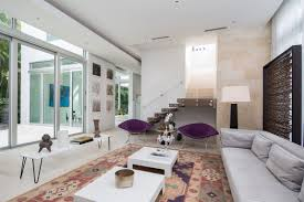 Houzz Living Room Lighting by The Most Beautiful Modern Home In Florida Shoproomideas