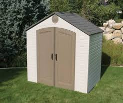 heartland stratford saltbox engineered wood storage shed blue