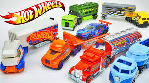 100 Hot Wheels Truck Race Haulers Track Stars Who Is The Fastest Cars