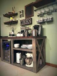 Kitchen Coffee Bar Ideas Small For Office Design Table Area