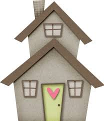 Bungalow Clipart Little House 11