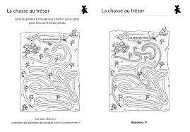 Coloriage à Imprimer La Chasse Au Trésor