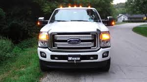 2016 F-250 Platinum LED Strobe Lights Everywhere Www ... Strobe Light Police Lights Car Styling 4 Yellow Amber Led Flash Ford Expands Firstever Factoryinstalled Warning Led 1 Kit Red Blue Truck Wireless Emergency Wolo Emergency Warning Light Bars Halogen Strobe 6pc Work Dual Function 60watt Lights For Vehicles Amazoncom Jackey Awesome 16led 18 Flashing Mode Hideaway Mini Vehicle 2x22 Flasher Lamp Bars With Lamphus Sorblast 34w Cstruction Tow White Beacon Trucklite Super 60 Integral 60120y