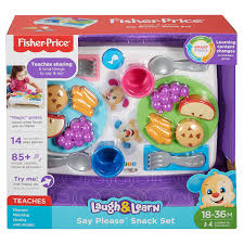 Fisher-Price Laugh & Learn Say Please Snack Set | DRF59 | Fisher ... 1987 Fisher Price Farm Toy Youtube Fisherprice Laugh Learn Jumperoo Walmartcom Amazoncom Bright Starts Having A Ball Cluck And Barn Fun Sounds Demo Little People Vintage Learningactivity Table Lego With Learning Basketball Animal Friends Toys Games Toysrus Vintage Sound Activity Center Mini My First