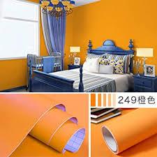 einfarbig dicke tapete schlafzimmer aufkleber dekoration